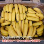 オーガニックバナナ/1箱 11kg(目安60本以上)【メーカー直送】【代引き不可】