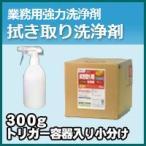 プロが認めた洗剤・強力洗浄剤 拭き取り洗浄剤BJ-2000 お試し用 300gスプレートリガー付き小分け 激安特価お掃除の必須アイテム 大掃除に最適 業務用洗剤