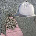 川砂(通し砂・左官砂) 大阪淀川産 土嚢袋 20kg セメント用砂・砂場の砂・ガーデニング・畑仕事・植栽・園芸用砂として