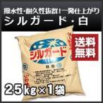 シルガード なんばんしっくい(南蛮漆喰)白(ホワイト)約25kg 送料無料