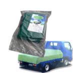 訳あり ワケあり わけありエステル帆布トラックシート 3号・2.3m×3.6m 激安特価