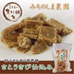 村山さんちの喜界糖 さとうきび仕込み(みちのしま農園)< 黒糖 黒砂糖 加工黒砂糖> 250g
