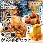 宮城県漁業協同組合唐桑支所「女性部がんばるセット」−女性部のみなさんが丁寧に加工、調理した商品を特別なセットで