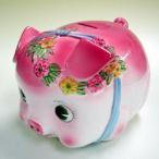 豚の貯金箱 ピギーバンク ブタバンク 特大 ピンク Piggy Bank