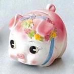 豚の貯金箱 ピギーバンク ブタバンク 小 ピンク Piggy Bank