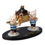 ローズオニールキューピー人形 キューピー歳時記フィギュアセット10月 秋祭り お神輿