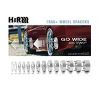 H&R スペーサー DRAタイプ 40mm/5-112/66.5φ ベンツ Cクラス W201/W202/W203 【8055665】