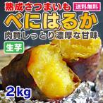 さつまいも 2kg 熟成 紅はるか べにはるか  生芋 送料無料 茨城県産