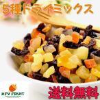 フルーツ ドライフルーツ 5種の ドライフルーツミックス お試し 200g 送料無料 ポイント消化