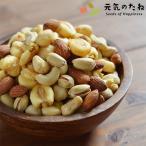 大人の 5種 おつまみ ミックスナッツ  無添加 塩味 ナッツ 200g 送料無料