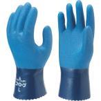 ショーワ ニトリルゴム手袋 No750ニトロ-ブ ブルー Lサイズ NO750-L