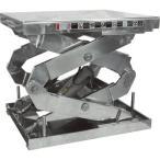 運賃見積り 直送品 ビシャモン ステンテーブルリフト 2X1000607AB-HL