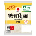 ダイエット食品 糖質オフ 糖質ゼロ麺 送料無料 (平麺2ケース) 糖質0g麺 16パック 紀文食品
