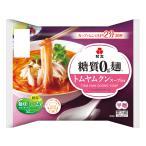 ダイエット食品 糖質オフ 糖質ゼロ麺 糖質0g麺 トムヤムクンスープ付き (1ケース) 6パック 紀文食品