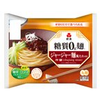 ダイエット食品 糖質オフ 糖質ゼロ麺 糖質0g麺 ジャージャー麺風たれ付き (1ケース) 6パック 紀文食品