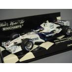 ミニチャンプス 1/43 BMW ザウバー F1 チーム F1.06 2006 F1 イギリスGP フリー走行 #17 J.ヴィルヌーヴ