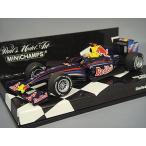 ミニチャンプス 1/43 レッドブル F1 チーム ショーカー 2009 F1 M.ウェバー