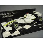 ミニチャンプス 1/43 ブラウンGP 2009 F1 ショーカー #22 J.バトン
