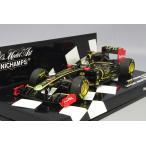 ミニチャンプス 1/43 ロータス ルノー GP R31 2011 F1 マレーシアGP #9 N.ハイドフェルド 1ST ポディウム WITH ルノー