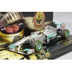 ,☆* 【シューマッハ特注】 ミニチャンプス 1/43 メルセデスGP W02 2011 F1 ベルギーGP #7 M.シューマッハ F1デビュー20周年