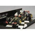 ☆ ミニチャンプス 1/43 ロータス F1 チーム ロータス E23 ハイブリッド 2015 F1 ベルギーGP 3位 #8 R.グロージャン 【レジン製】