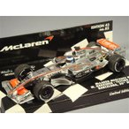 ミニチャンプス 1/43 マクラーレン メルセデス MP4-21 2006 F1 バルセロナテスト M.ハッキネン
