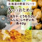 離乳食ベビーフード裏ごし野菜フレーク Sサイズおためし 北海道大望 とうもろこし かぼちゃ じゃがいも にんじん 乾燥ベビーフード出産祝い