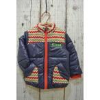 チャイルドチャンプ CHILD CHAMP ネイティブニット切替の中綿ジャケット 子供服 セール 15秋冬 アウター 防寒