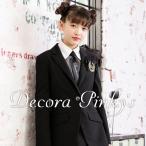 卒業式 スーツ 女の子 ブラックフォーマル 6点セット DECORA PINKY'S デコラピンキーズ 子供服 150・160・165 小学校卒業式スーツ ジュニアスーツ