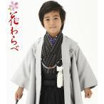 花わらべ 七五三着物 753 5歳着物  羽織 袴のフルセット 2019年 WI22