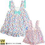 ショッピング子供服 子供用 子供用 子供 キッズ 水着 女の子 裾フリル Aライン ワンピース 水着 UVカット UPF50+ 韓国子供服 メール便送料無料