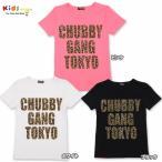 CHUBBYGANG チャビーギャング レオパード柄ロゴプリント半袖Tシャツ-SALE70