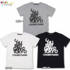 CHUBBYGANG チャビーギャング デザインロゴプリント半袖Tシャツ-SALE50