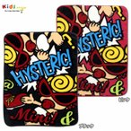 MY FIRST HYSTERIC マイファーストヒステリック HYSTERIC POP SIGN総柄Baby用ハーフブランケット