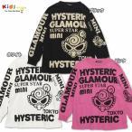 Hystericmini ヒステリックミニ HYSTERIC GLAMOUR ロゴプリント 長袖Tシャツ【ポイント5倍】