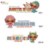 Hystericmini ヒステリックミニ MONSTER IN CAR STICKER(外貼り)