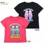 X-girl Stages エックスガール ステージス ショートスリーブ TEE TOO MUCH FUN-SALE40