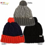 X-girl Stages エックスガール ステージス CABLE KNIT CAP-SALE30
