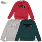 ZIDDY ジディー ロゴボア 裏毛トレーナー-SALE50