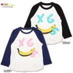 X-girl Stages エックスガール ステージス B/B TEE BANANA FACE(Tシャツ)-SALE30
