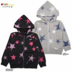 X-girl Stages エックスガール ステージス ZIP HOODIE FADED STAR(パーカー)-SALE30