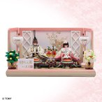 雛人形 リカちゃん 久月 ひな人形 親王飾り シリアル入り イオンオリジナル RI-1600