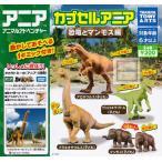カプセルアニア 恐竜とマンモス編 全4種セット(ガチャ ガシャ コンプリート)