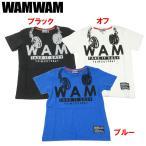 WAMWAM ワムワム 「ヘッドフォンプリント」半袖Tシャツ  DM便OK 1702 C
