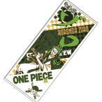 ワンピース ONEPIECE フェイスタオル 約33×88cm ロロノア・ゾロ ワノ国編柄 日本製 タオル