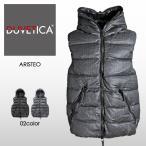 デュベティカ DUVETICA ダウンベスト メンズ 最高級カシミヤ混ウール フーデッド ARISTEO