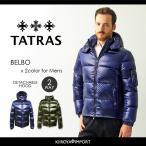 タトラス TATRAS ダウンジャケット メンズ フード付き 微光沢ナイロン ショート BELBO