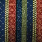 和風生地  縦縞柄  マルチ  和調和柄布