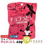 送料無料 沖縄 チョコっとう プレーン 40g×10袋セット メール便 チョコ バレンタインデー ホワイトデー バラマキ