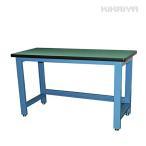 KIKAIYA 中量作業台 ワークテーブル 耐荷重1000kg W1530xD655xH885mm【個人宅配達不可・商品代引不可】